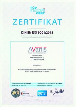 2019-09-03_ISO9001_Avanis